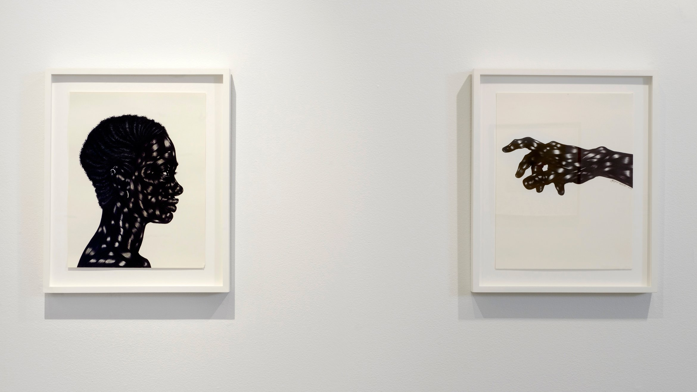 Cover Photo: ©Toyin Ojih Odutola.  Courtesy of the artist and Jack Shainman Gallery, New York. Installation image from Six Draughtsmen at MoCADA Photo Credit: Steven Harris