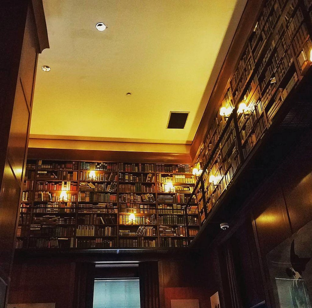 Cover Photo: Library Bar   Gerald, bring me the GOOD port